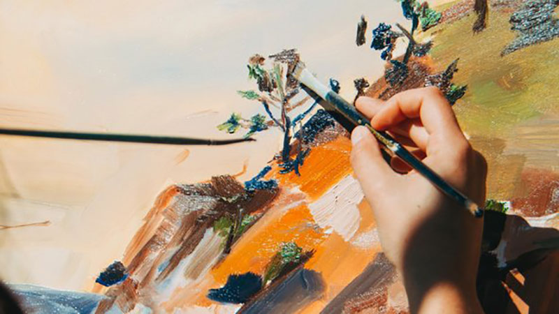 Zoom Art Classes Brisbane